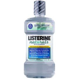 Listerine Naturals Herbal Mint antiseptická ústna voda s fluoridom  1000 ml