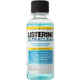 Listerine Ultra Clean Artic Mint enjuague bucal para aliento fresco  95 ml