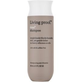 Living Proof No Frizz glättendes Shampoo gegen strapaziertes Haar ohne Silikone und Sulfate  60 ml