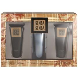 Liz Claiborne Bora Bora set cadou I.  Eau de Cologne 100 ml + Gel de dus 100 ml + Lotiune de corp 100 ml