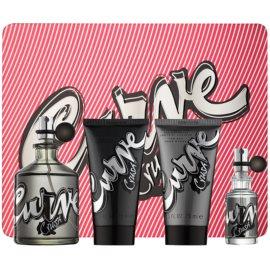 Liz Claiborne Curve Crush Gift Set III  Cologne 125 ml + Cologne 15 ml + Shower Gel 75 ml + Aftershave Balm 75 ml