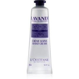 L'Occitane Lavande krema za roke in nohte z karitejevim maslom  30 ml
