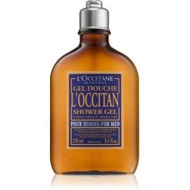 L'Occitane L'Occitan gel za prhanje za telo in lase za moške  250 ml