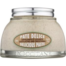 L'Occitane Amande Exfoliating and Smoothing Delicious Paste 200 ml