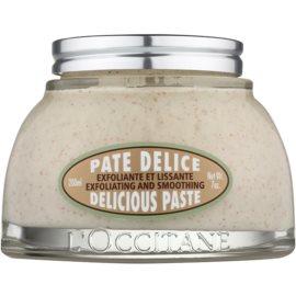 L'Occitane Amande exfoliante corporal con aceite de almendras  200 ml