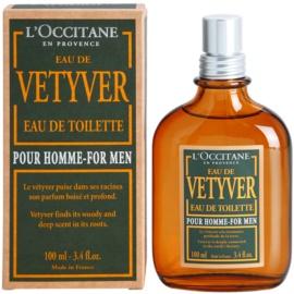L'Occitane Eau de Vetyver pour homme Eau de Toilette para homens 100 ml