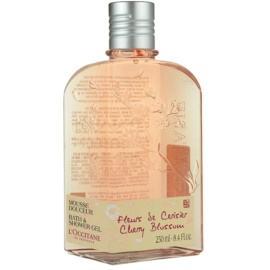 L'Occitane Fleurs de Cerisier gel za prhanje  250 ml