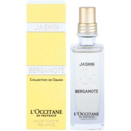 L'Occitane Jasmin & Bergamot toaletní voda pro ženy 75 ml