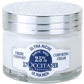 L'Occitane Karité hranilna in pomirjevalna krema za kožo obraza  50 ml