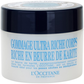 L'Occitane Karité jemný telový peeling  200 ml