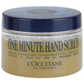 L'Occitane Karité exfoliante para manos  100 ml