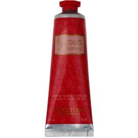 L'Occitane Rose krema za roke z vonjem vrtnic  30 ml