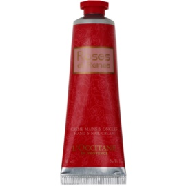 L'Occitane Rose Hand Cream With The Scent Of Roses  30 ml