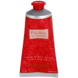 L'Occitane Rose krema za roke z vonjem vrtnic  75 ml