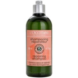 L'Occitane Hair Care sampon pentru regenerare pentru par uscat si deteriorat  300 ml