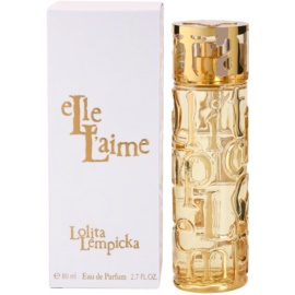 Lolita Lempicka Elle L'aime Eau de Parfum para mulheres 80 ml