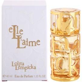 Lolita Lempicka Elle L'aime Eau de Parfum voor Vrouwen  40 ml