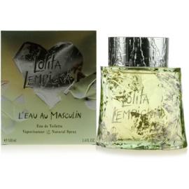 Lolita Lempicka L`Eau Au Masculin Eau de Toilette für Herren 100 ml