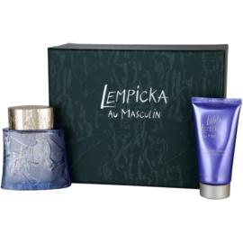 Lolita Lempicka Au Masculin ajándékszett II. Eau de Toilette 100 ml + tusfürdő gél 75 ml
