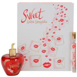 Lolita Lempicka Sweet ajándékszett II.  Eau de Parfum 80 ml + Eau de Parfum 7 ml