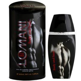 Lomani Body & Soul Eau de Toilette para homens 100 ml