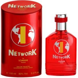 Lomani Network Red Eau de Toilette für Herren 100 ml