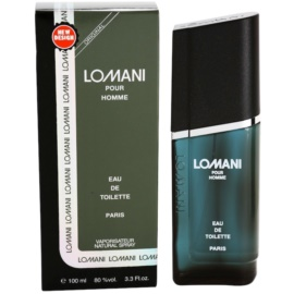 Lomani Pour Homme Eau de Toilette for Men 100 ml