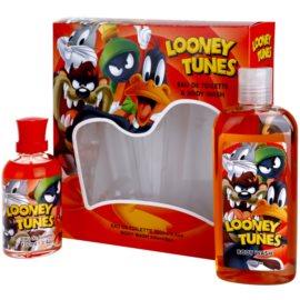 Looney Tunes Looney Tunes zestaw upominkowy I. woda toaletowa 100 ml + żel pod prysznic 240 ml