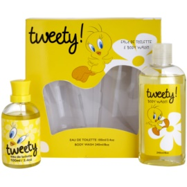 Looney Tunes Tweety! set cadou I.  Apa de Toaleta 100 ml + Gel de dus 240 ml