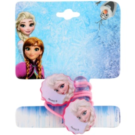 Lora Beauty Disney Frozen cieńkie gumki do włosów kształt kwiatu  2 szt.