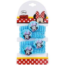 Lora Beauty Disney Minnie goma para cabello con adorno en forma de flor a partir de 3 años  4 ud