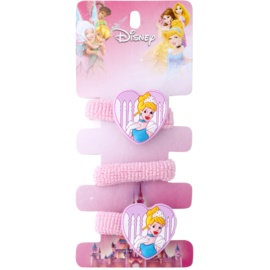 Lora Beauty Disney Cinderella Haargummis herzförmig  3 St.