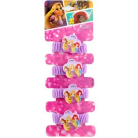 Lora Beauty Disney Princess gumičky do vlasů s kytičkou  4 ks
