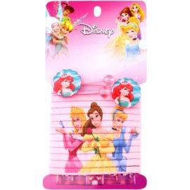 Lora Beauty Disney Princess elásticos para cabelo mix  14 un.