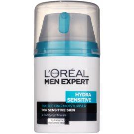 L'Oréal Paris Men Expert Hydra Sensitive crema hidratante para pieles sensibles  50 ml