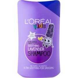 L'Oréal Paris Kids sampon és kondicionáló 2 in1 gyermekeknek Soothing Lavender 250 ml