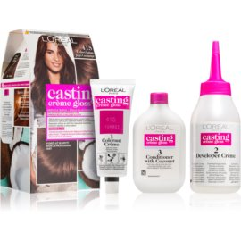 L'Oréal Paris Casting Creme Gloss Hair Color Shade 415 Iced Chocolate