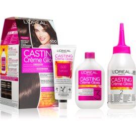 L'Oréal Paris Casting Creme Gloss Hair Color Shade 500 Maroon