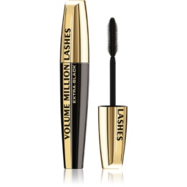L'Oréal Paris Volume Million Lashes Extra Black riasenka predlžuje a zhusťuje riasy  odtieň Black 9 ml
