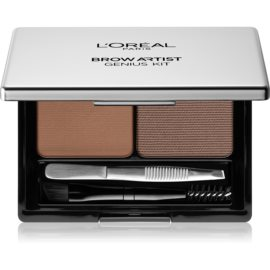 L'Oréal Paris Brow Artist Genius Kit set za urejanje obrvi odtenek Medium To Dark 3,5 g