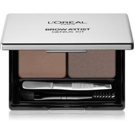 L'Oréal Paris Brow Artist Genius Kit set za urejanje obrvi odtenek Light To Medium 3,5 g