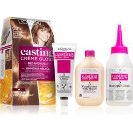 L'Oréal Paris Casting Creme Gloss Hair Color Shade 635 Chocolate Candy