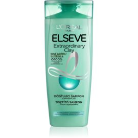 L'Oréal Paris Elseve Extraordinary Clay das Reinigungsshampoo für schnell fettiges Haar  250 ml