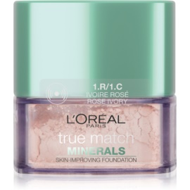 L'Oréal Paris True Match Minerals pudrasti make-up odtenek 1.R/1.C Rose Ivory 10 g