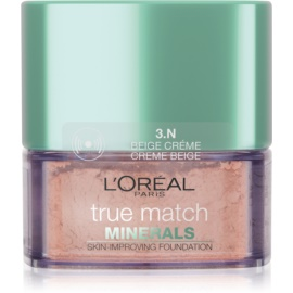 L'Oréal Paris True Match Minerals pudrasti make-up odtenek 3.N Creme Beige 10 g
