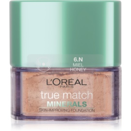 L'Oréal Paris True Match Minerals pudrasti make-up odtenek 6.N Honey 10 g