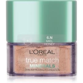 L'Oréal Paris True Match Minerals pudrový make-up odstín 6.N Honey 10 g