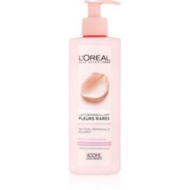 L'Oréal Paris Precious Flowers mleczko oczyszczające do skóry suchej i wrażliwej  400 ml