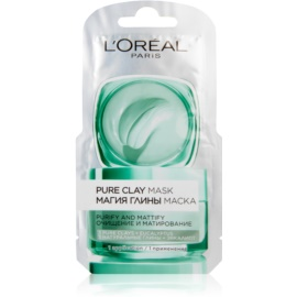 L'Oréal Paris Pure Clay masque purifiant et matifiant  6 ml