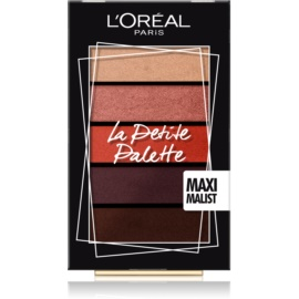 L'Oréal Paris La Petite Palette paleta farduri de ochi culoare Maximalist 5 x 0,8 g